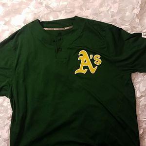 Baseball Oakland athletics jersey
